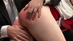 grappling with Jessica's ample bum