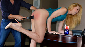 Spanking and Leather Strapping
