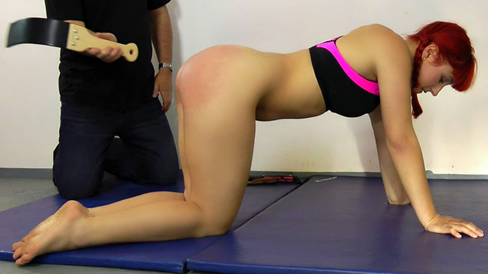 Exercise spankings