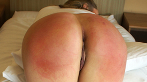 Jadie Reece sore red spanked bottom